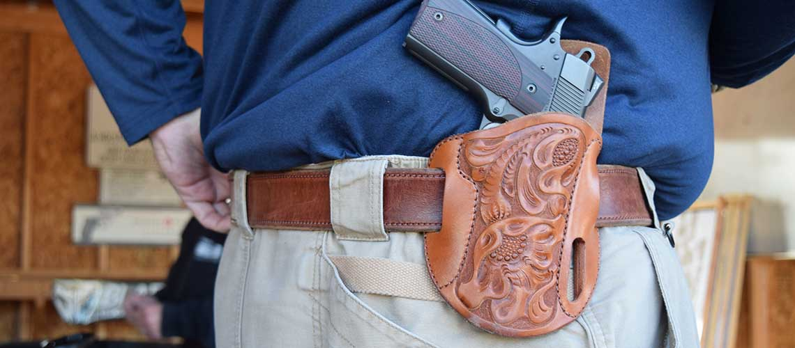 Simply Rugged Holsters - Leather Holsters, Leather Gun Belts